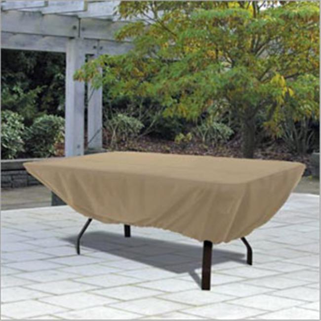 Patio Table Cover Rectangle - Tan
