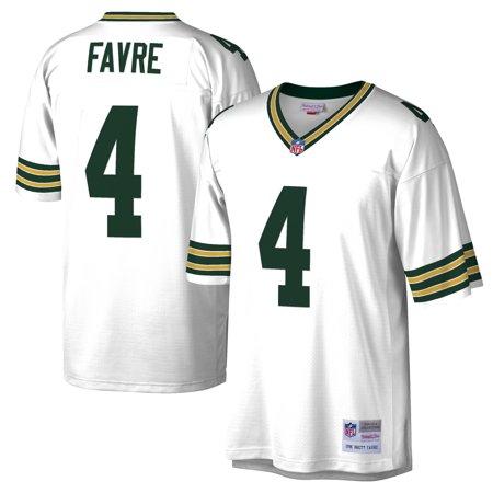 Brett Favre Green Bay Packers Mitchell & Ness 1996 Replica Retired Player Jersey - White