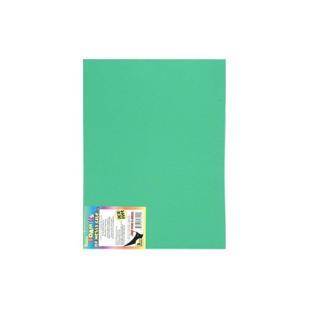 Darice Foamies Sheet 9x12 Sticky Back Green (pack of 10)
