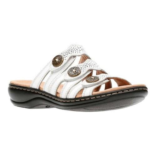 Ladies Clarks Leisa Grace Casual Leather Mule Sandals