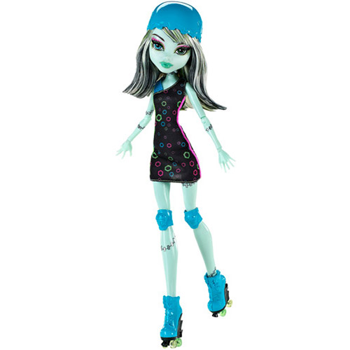 Monster High Skultimate Roller Maze Doll, Frankie Stein Doll