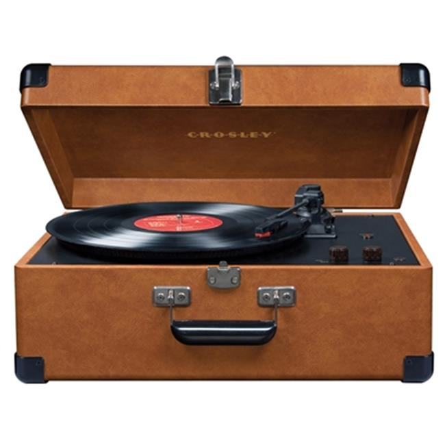 Crosley CR6249A-TA Keepsake Portable USB Turntable - Tan