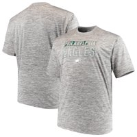 2e57dc983 Product Image Men s Majestic Heathered Gray Philadelphia Eagles Big   Tall  Last Chance Ply Reflective T-Shirt