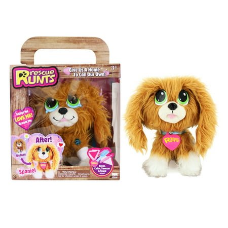 Rescue runts - spaniel - rescue dog plush by kd kids