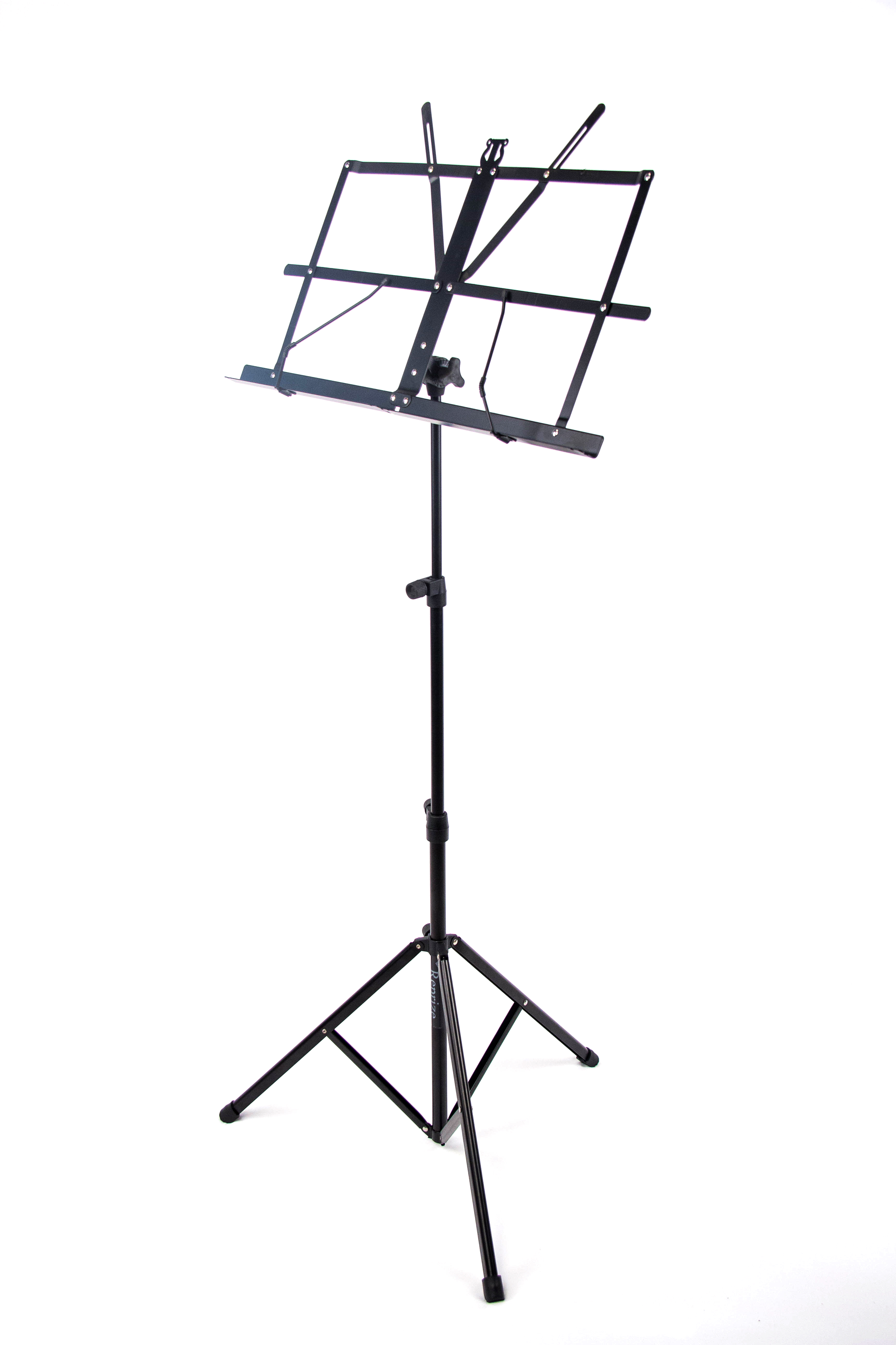 Reprize Accessories CMS-1 Compact Folding Music Stand with carrying case by Reprize