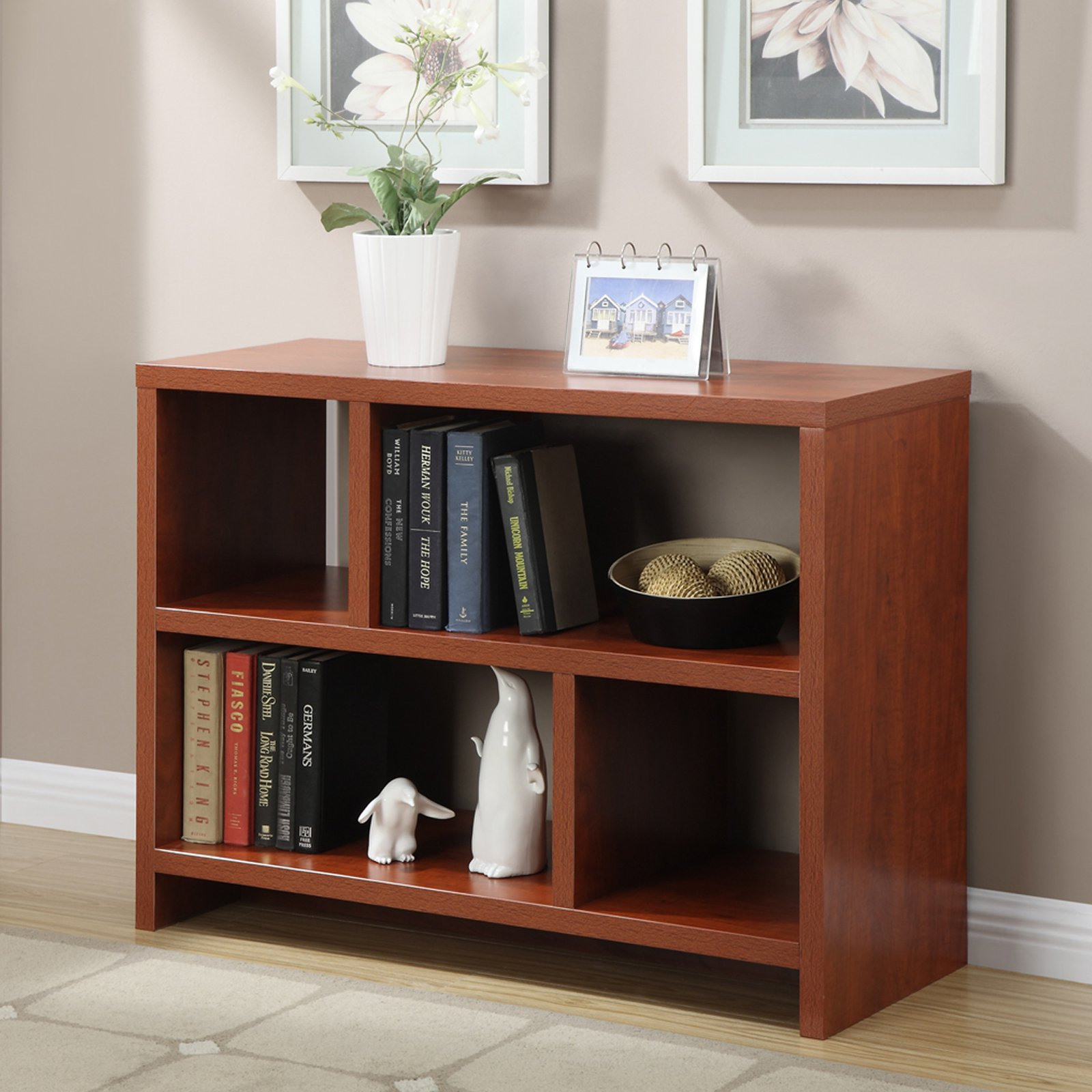 Convenience concepts northfield console table with shelves convenience concepts northfield console table with shelves multiple colors walmart geotapseo Image collections