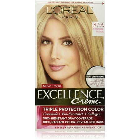 L'Oreal Paris Excellence Créme Permanent Hair Color, Champagne Blonde [8.5A] 1