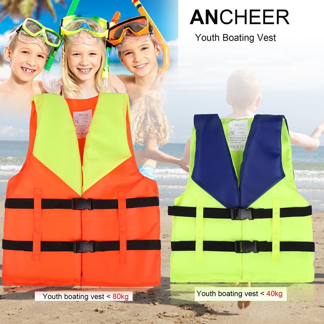 Safety Youth Child's Open-sided Boating Vest Life Jacket SMT by