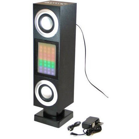 Craig Bluetooth Tower Speaker System With Color Changing