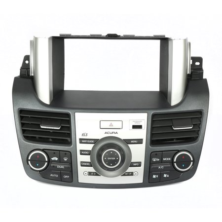 - 2008-2009 Acura RDX Radio & Climate Control Panel Assembly 77250-STKA-A010-20 - Refurbished