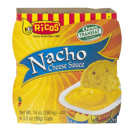 (2 Pack) Ricos Nacho Cheese Sauce, 4 ct