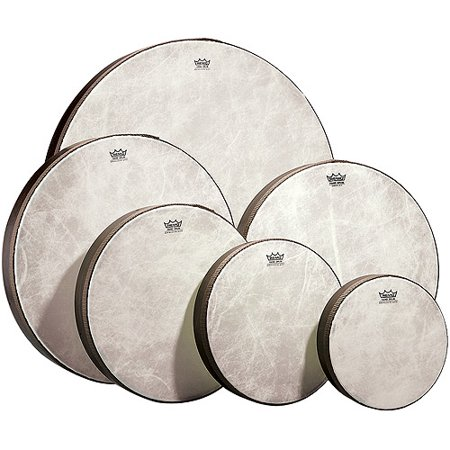 "Remo Frame Drum, Fiberskin 3, 12"" Diameter x 2.5"" Depth"