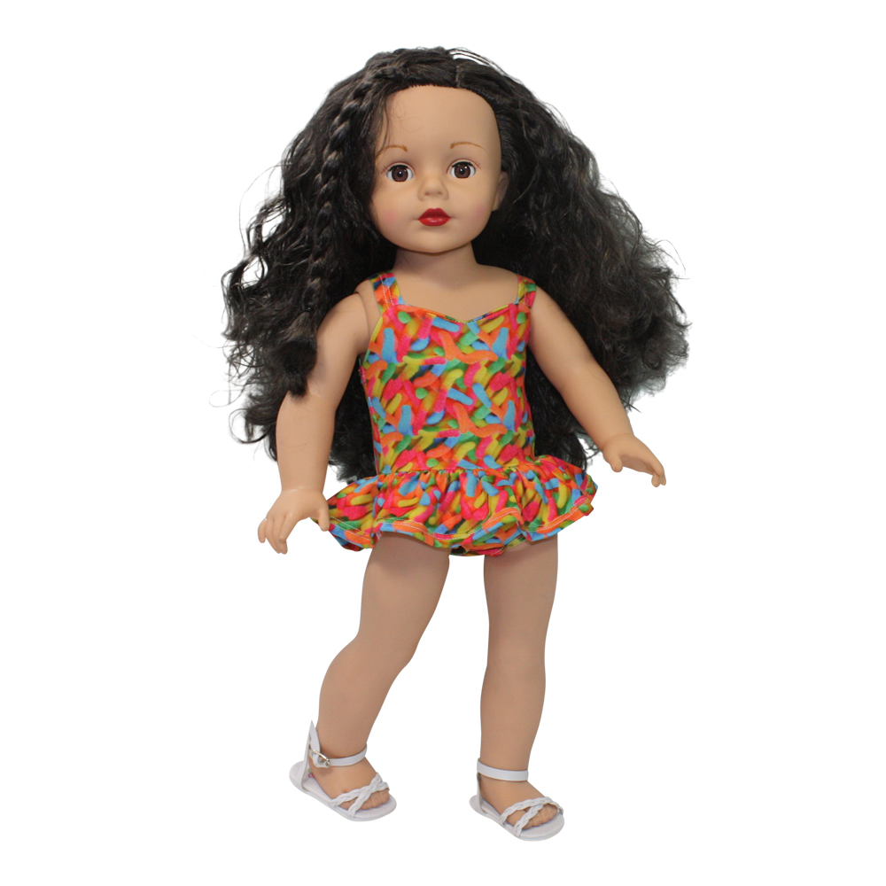 Ari and Friends I Want Candy Swimsuit Fits 18 inch Dolls