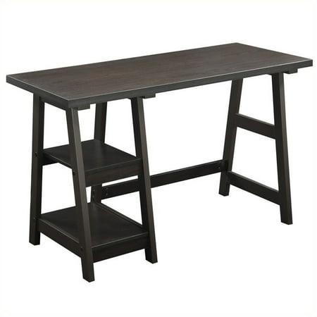 Scranton & Co Trestle Desk in Espresso - image 1 de 3