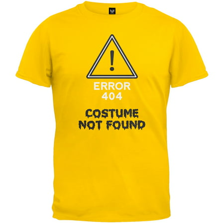Halloween Error Costume Not Found Youth T-Shirt - How Was Halloween Founded