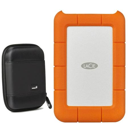 LaCie Rugged USB-C & USB 3.0 4TB STFR4000800 + Compact HD MANUFACTURER
