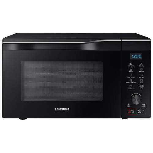 Samsung 1.1 cu ft Countertop Power Convection Microwave, Black Stainless Steel