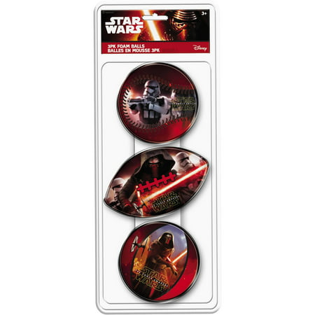 Hedstrom 3 Pack Star Wars Foam Ball Set