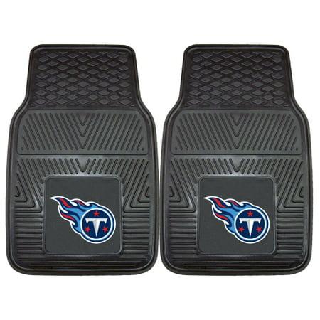 "Tennessee Titans 2-pc Vinyl Car Mats 17""x27"""