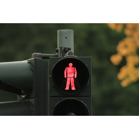 - LAMINATED POSTER Light Stop Traffic Light Green Signal Traffic Poster Print 24 x 36