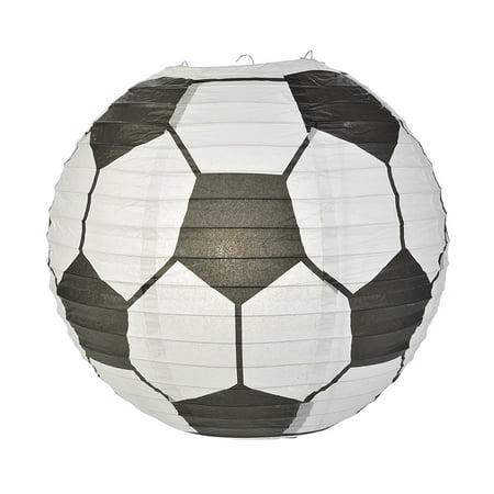 Soccer Ball Paper Lantern (10 PACK)