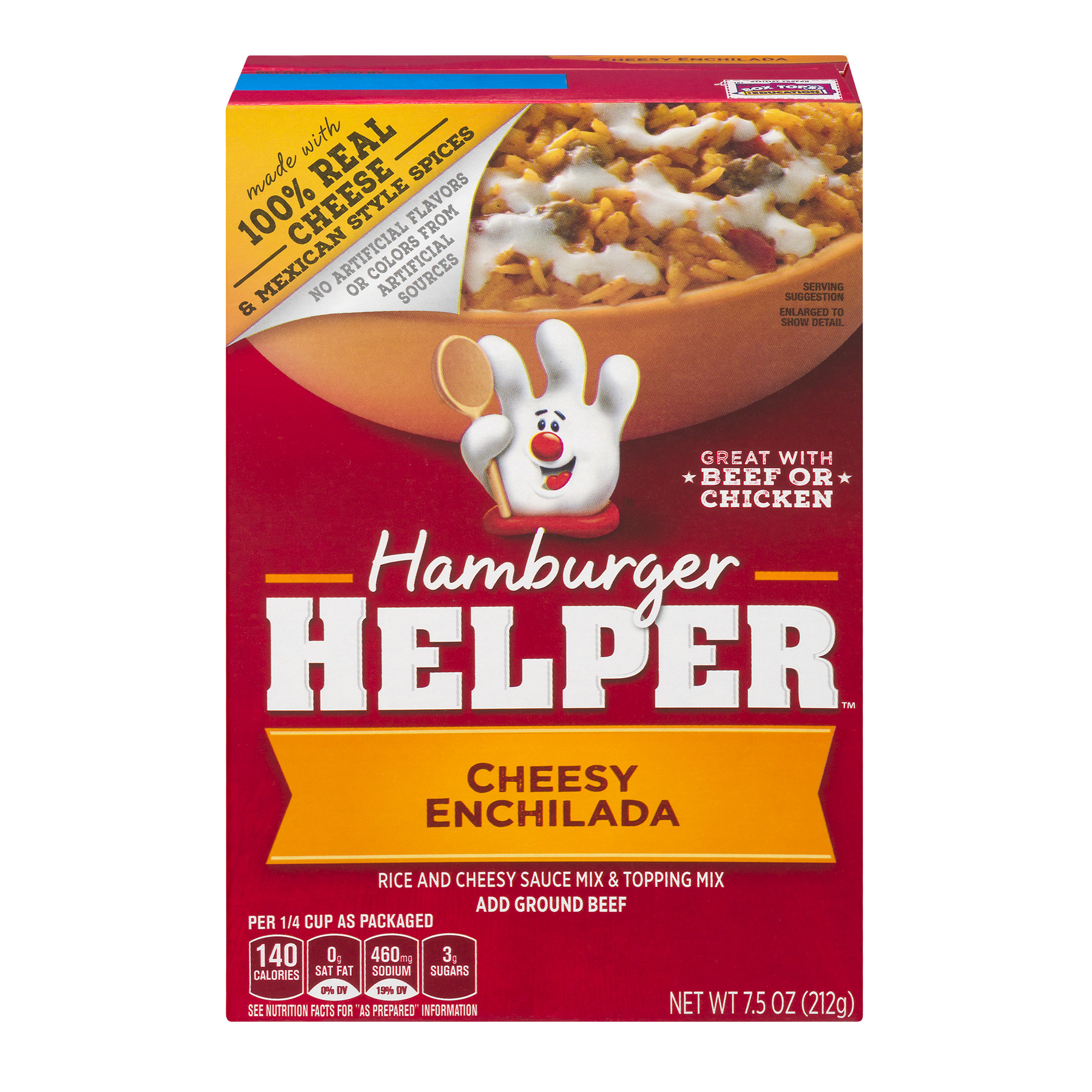 Betty Crocker Hamburger Helper Cheesy Enchilada 7.5 oz Box