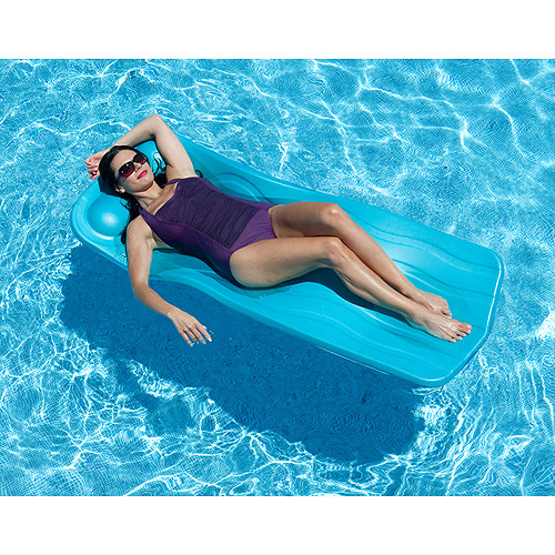 "Spongex Marquis Pool Float, 70"" x 1.25"", Aqua"