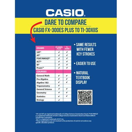 Casio FX- 260 SOLAR II Scientific Calculator, LCD Display