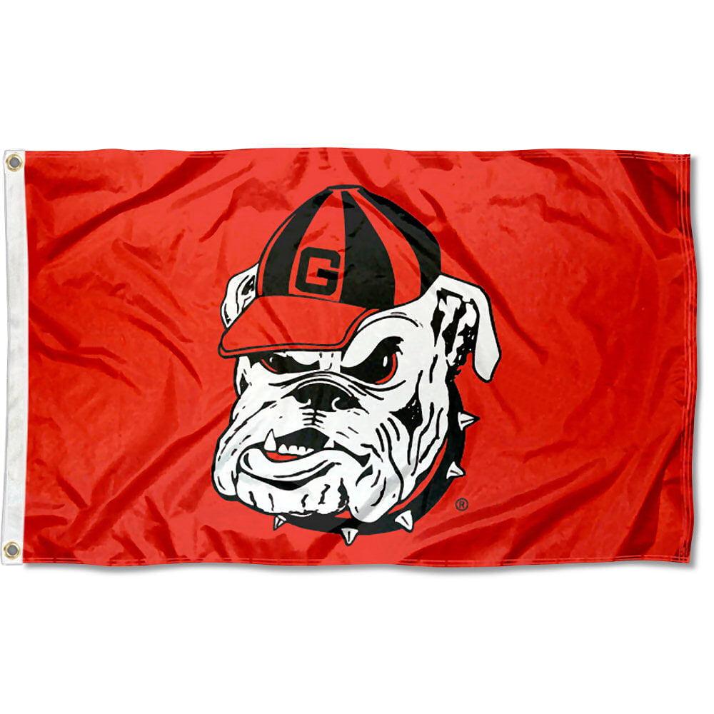 University of Georgia Bulldogs Flag