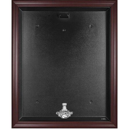 - St. Louis Blues 2019 Stanley Cup Champions Mahogany Framed Jersey Display Case