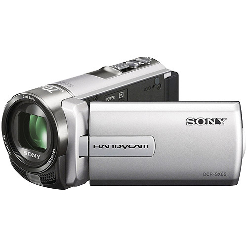 Sony DCR-SX65 Handycam Camcorder (Silver) (Certified Refurbished)