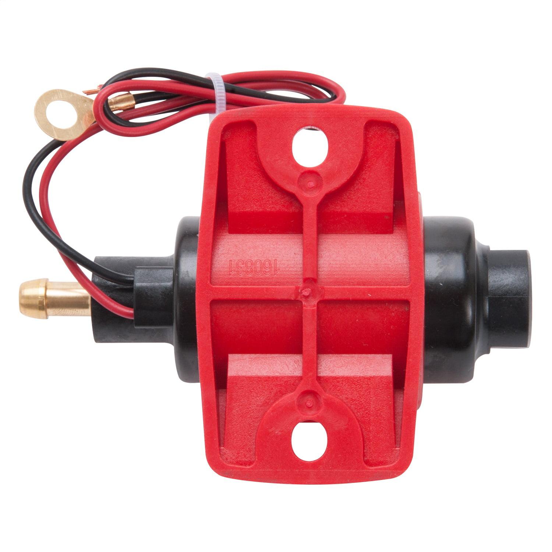 Edelbrock Fuel Pump Low Pressure 12V 30 GPH Gasoline Only
