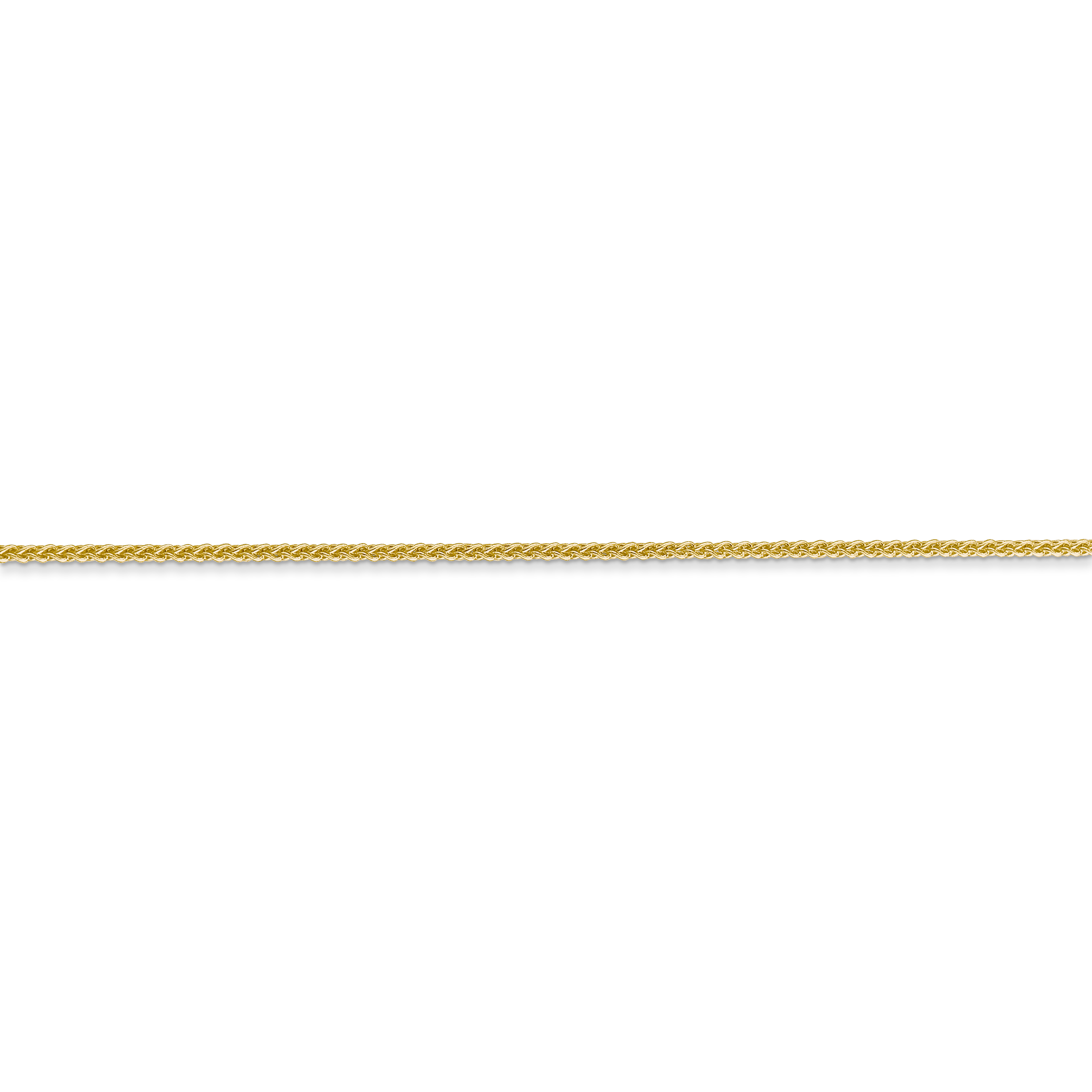 14k Yellow Gold 1mm Solid Spiga Chain Necklace 24 Inch Pendant Charm Wheat Fine Jewelry Gifts For Women For Her - image 4 of 5