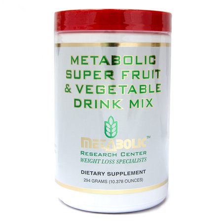 Metabolic Super Fruit and Vegetable Drink Mix by Metabolic Research Center