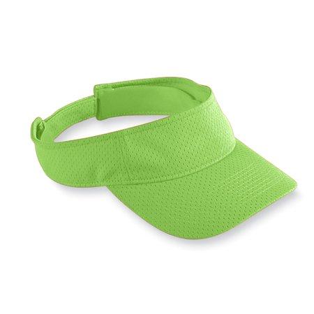 6227 Athletic Mesh Visor-adult LIME OS (Lime Green Fedora)