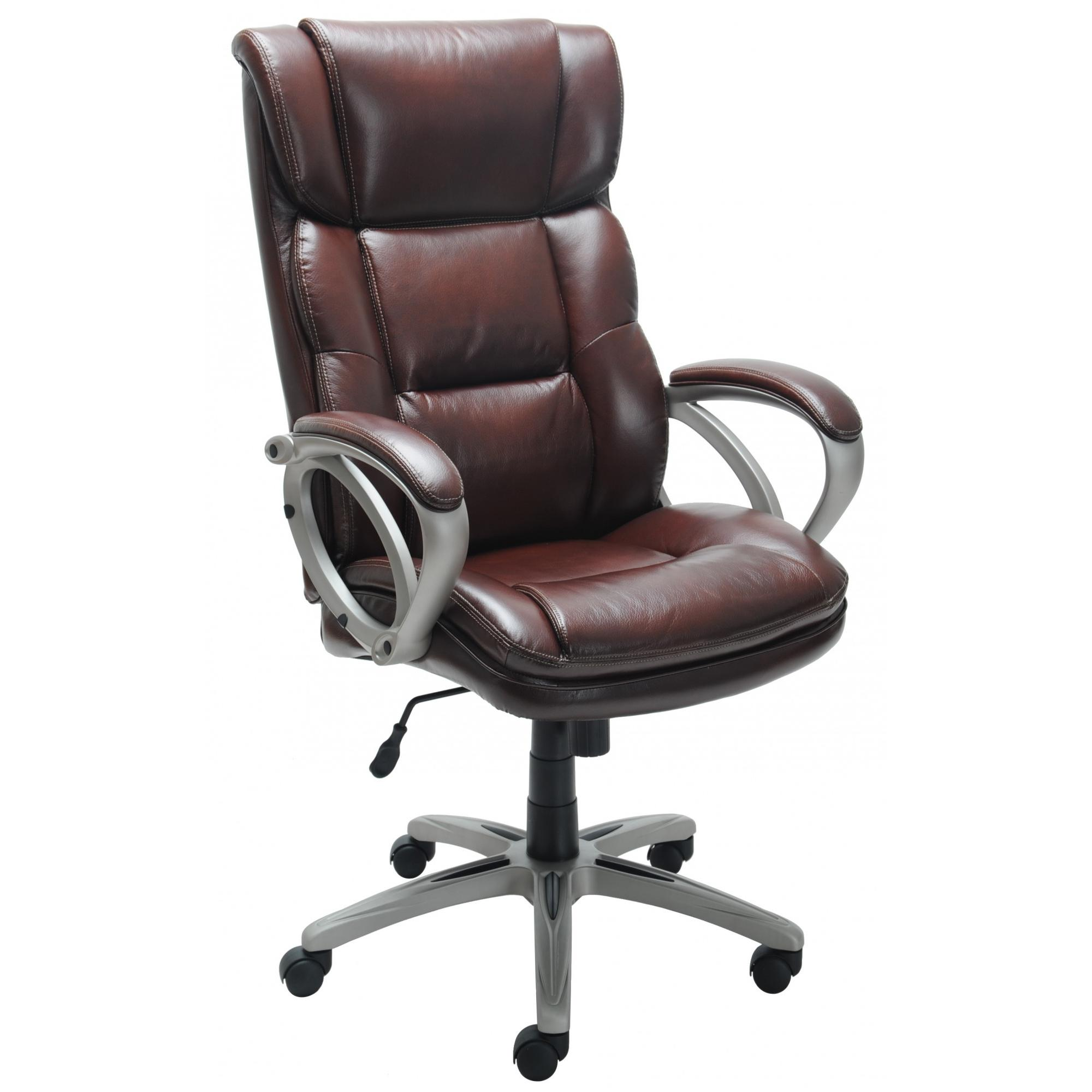 Broyhill Bonded Leather Executive Chair Walmart Com