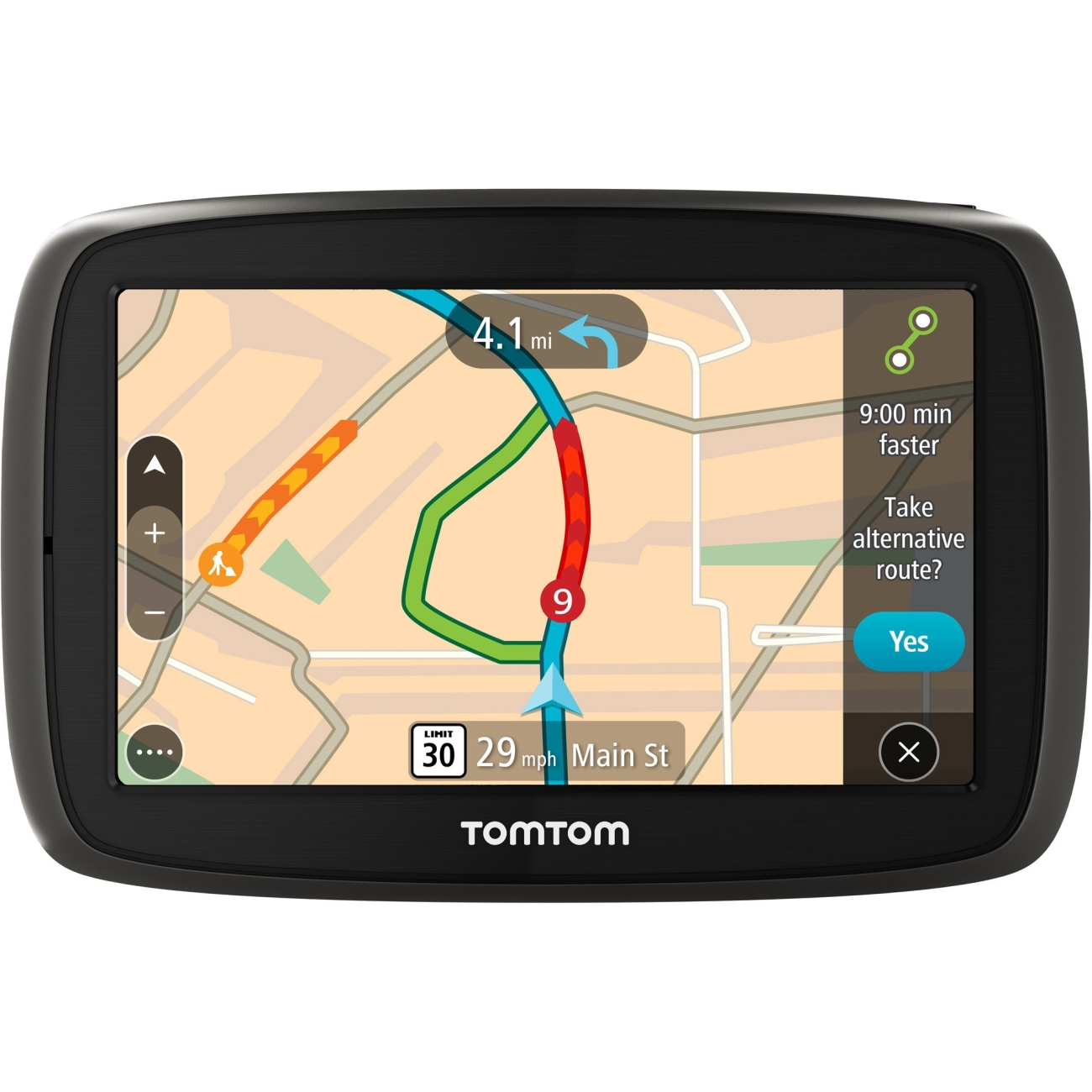 "TomTom GO 50 S 5"" Portable Vehicle GPS with Lifetime Maps & Traffic Refurbished by TomTom"