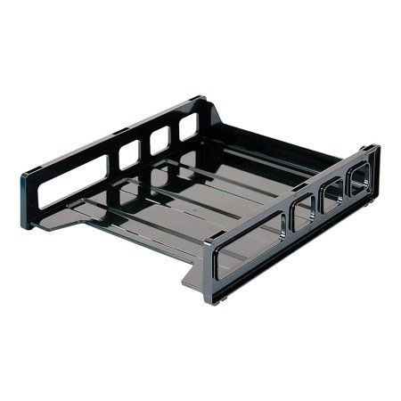 Staples Stackable Desk Trays Front Load Letter Size (DPS03535) 812277