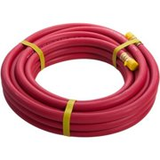 STEELMAN 98459 30-Foot x 3/8-Inch Rubber Air Hose, 3/8-inch NPT fittings