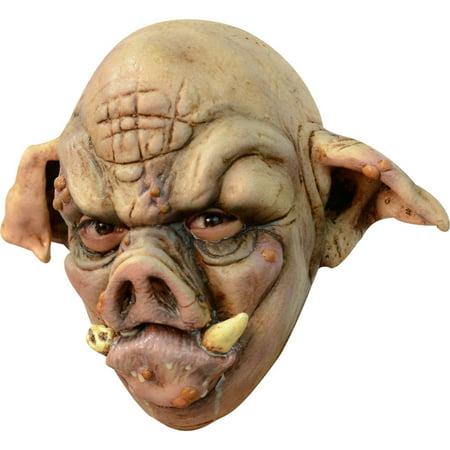 Adult Rabid Pig Halloween Mask (Pug Halloween Mask)