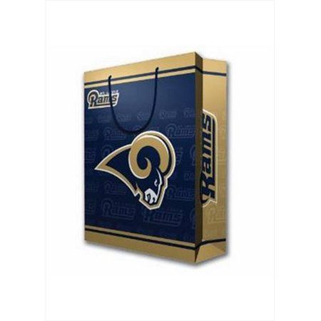 Pro Specialties Group Large Gift Bag Nfl   St  Louis Rams