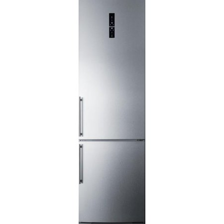 Ffbf181es 24  Bottom Freezer Refrigerator With 12 8 Cu  Ft  Capacity  Digital Thermostat  A Wine Rack  Zerozone Deli Drawer And High Temperature Alarm  In Stainless Steel
