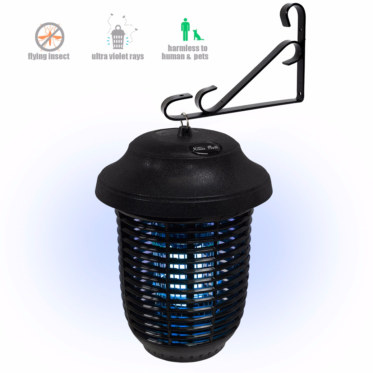 40W Electric Bug Zapper UV Light Pest Killer