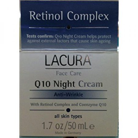 LaCura Q10 NIGHT FACE CREAM Anti-Wrinkle 1.7 oz. by