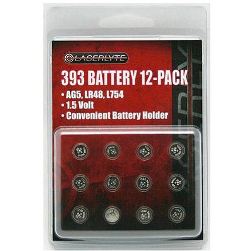 Laserlyte 393 Batteries, 12-Pack
