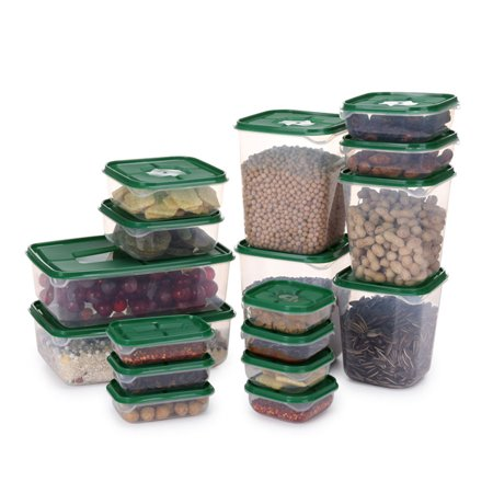 17 Pcs/Set Food Sealed Box with Cover Kitchen Tools Refrigerator Storage - image 4 of 8