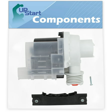137221600 Washer Drain Pump Kit Replacement for Frigidaire WWX111REW0 Washing Machine - Compatible with 137221600 Water Pump - UpStart Components Brand