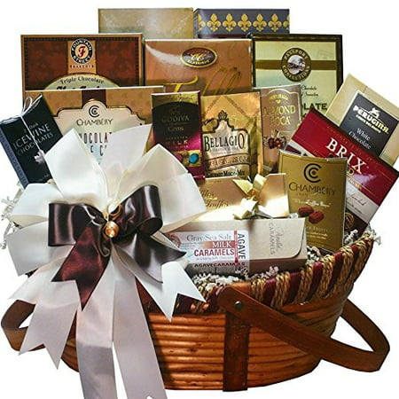 Art of Appreciation Gift Baskets Chocolate Treasures Gourmet Food Gift Basket - Employee Appreciation Gifts