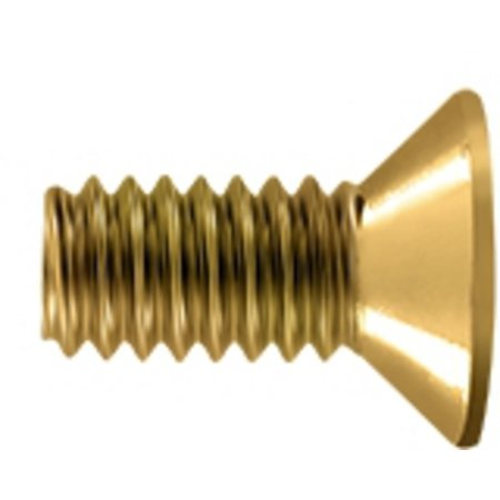 Brass Machine Screws (1/2