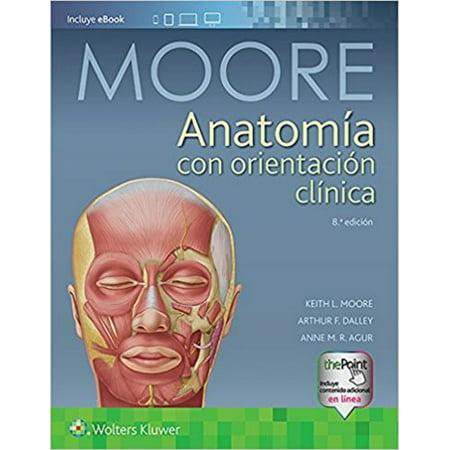Anatomia con crientacion clinica (Clinically Oriented Anatomy). Text ...